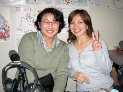 ゲストの岡本円さんと阿部理恵子さんです。